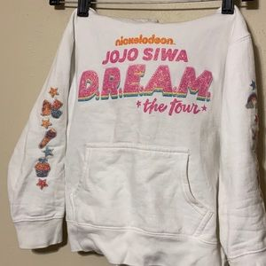 Jojo Siwa DREAM tour sweatshirt size small